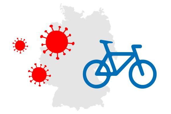 Coronavirus-Deutschland-Radfahren
